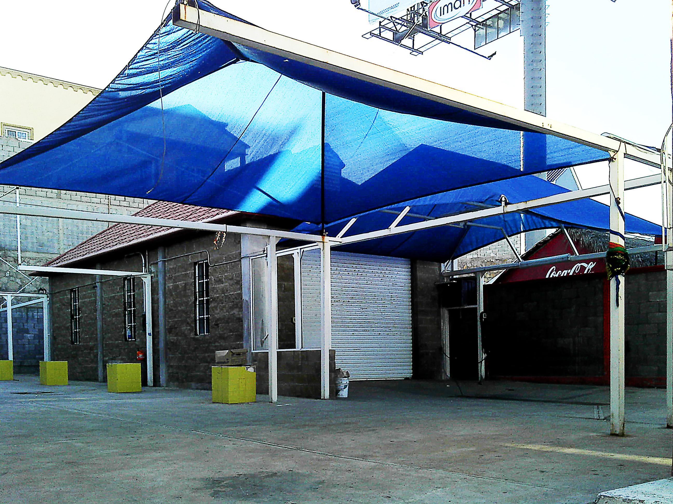 Instalacion de malla sobra